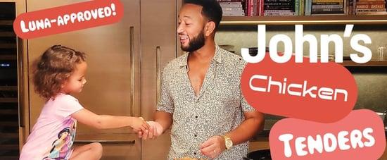 John Legend's Kid-Friendly Buttermilk Fried Chicken Recipe