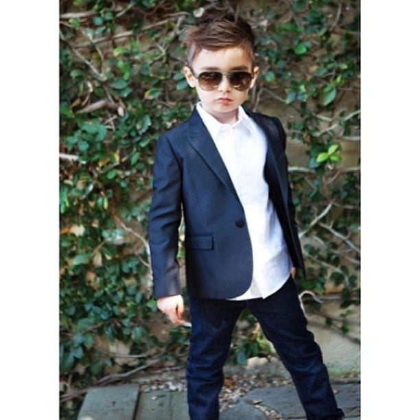 Alonso Mateo Instagram Style: Strike A Pose. Source: Instagram User Luisafereandmateo