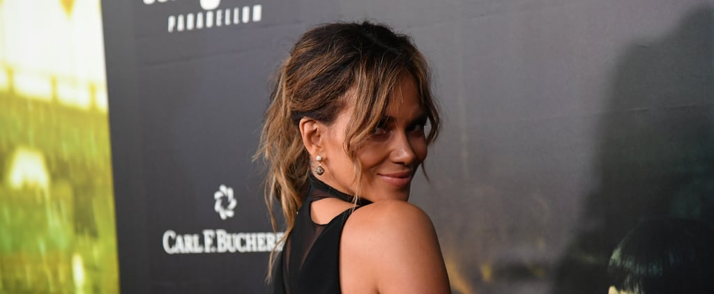 Halle Berry's Back Exercises With Dumbbells