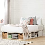 South Shore Avilla Queen Storage Bed with Baskets