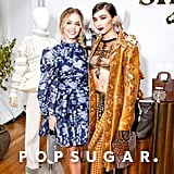 Sydney Sweeney and Rowan Blanchard Hang Out at NYFW