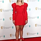 Florence Pugh at the BAFTA Nominees Party