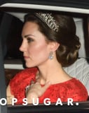 Kate Middleton Arrives in True