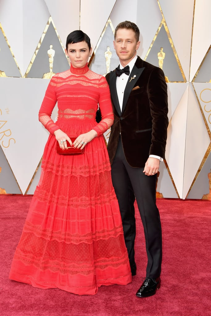 Josh Dallas And Ginnifer Goodwin At The 2017 Oscars
