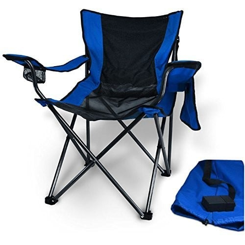 Travelling Breeze Fan Cooled Sports Camping Chair