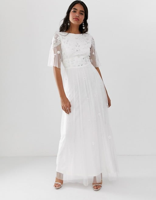 Amelia Rose Embellished Maxi Dress