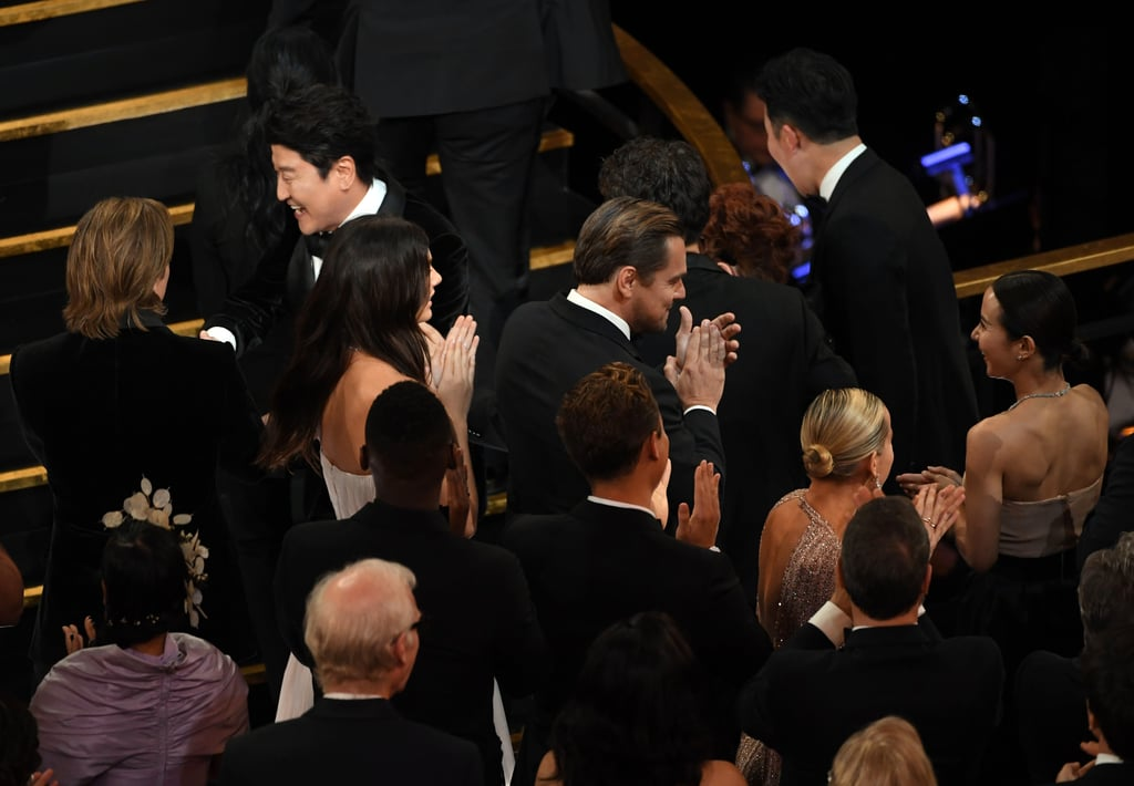 Feb. 2020: Leo and Camila Sit Next to Each Other at the Oscars