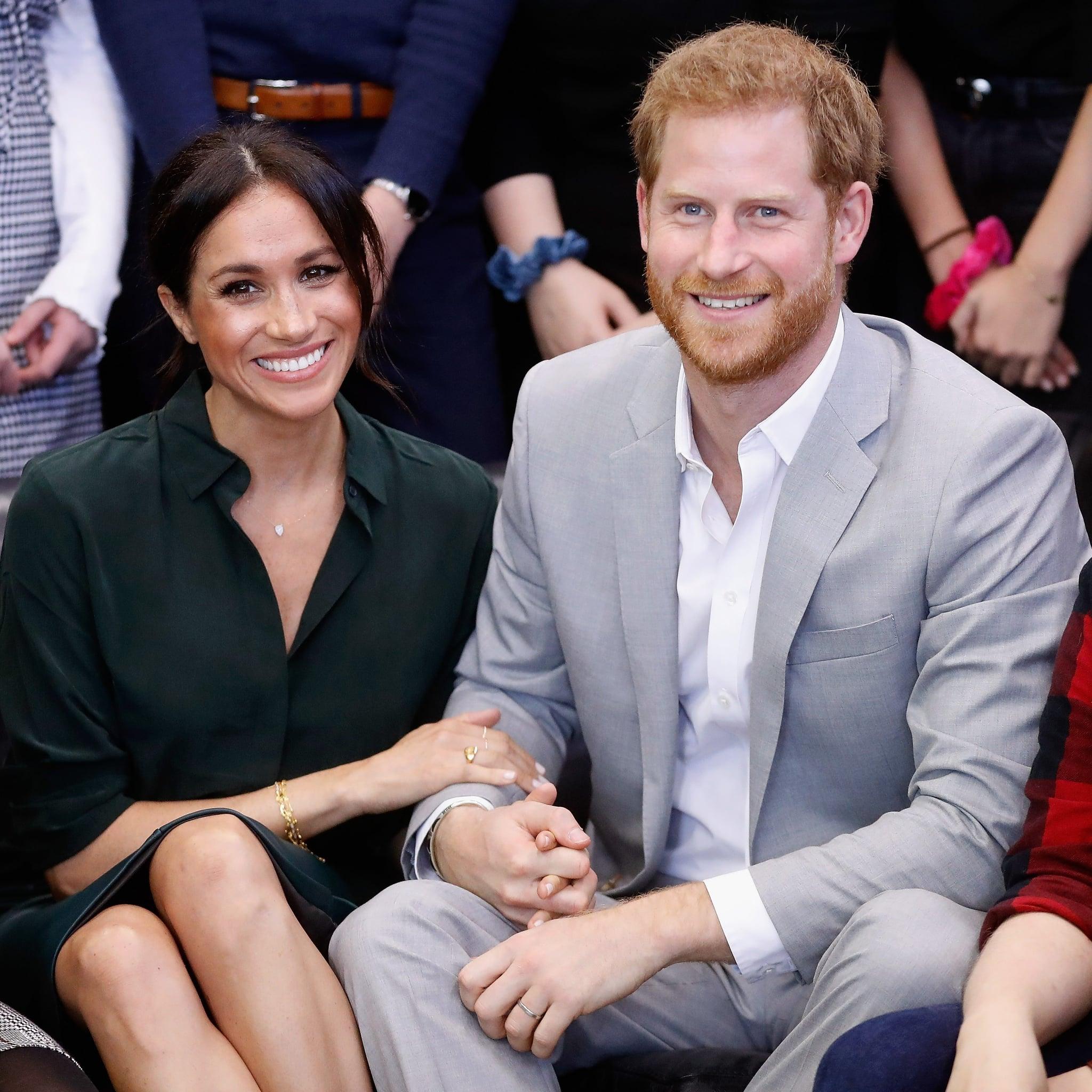 de0e8f078098f Meghan Markle, Prince Harry, Adele at Hubb Community Kitchen | POPSUGAR  Celebrity