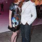 Jacqueline Emerson and Dayo Okeniyi struck a pose.
