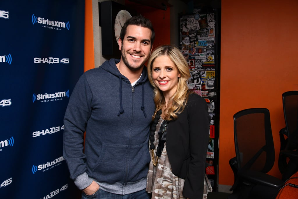Sarah Michelle Gellar on a morning radio show.