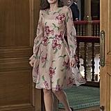 Queen Letizia's Floral Dress