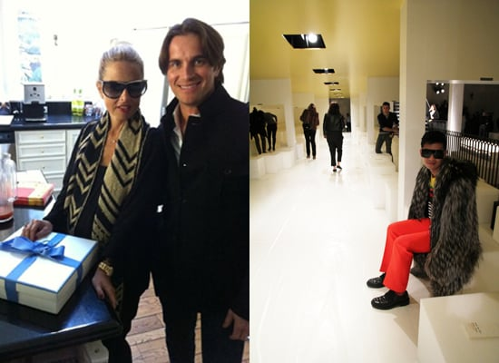 Celebrity Fashion Twitter Pictures from Henry Holland, Anna Dello Russo, Brian Atwood