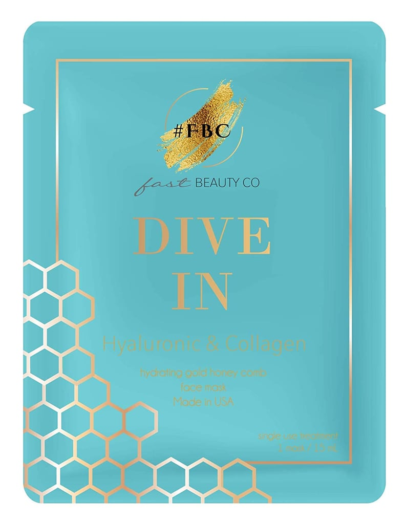 Fast Beauty Co. Hydrating Gold Honey Comb patterned Mask