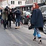 Street style photos are inspiring, but usually not realistic. Who wears high heels in a snowstorm anyways? It's OK to buy more than one of the same piece if you'll wear it over and over again.