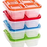 EasyLunchboxes 4-Compartment Snack Box Food Containers