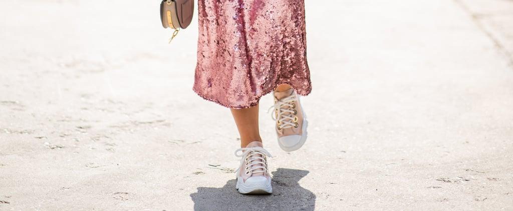 Keds x Kate Spade Glitter Sneakers on Amazon