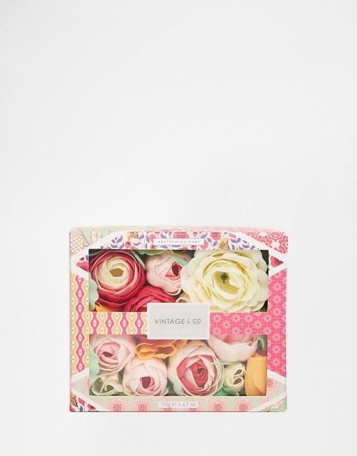 Vintage & Co. Fabric & Flowers Soap Flowers