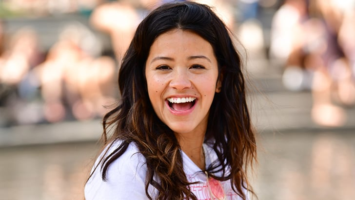 NEW YORK, NY - MAY 03: Gina Rodriguez seen on location for