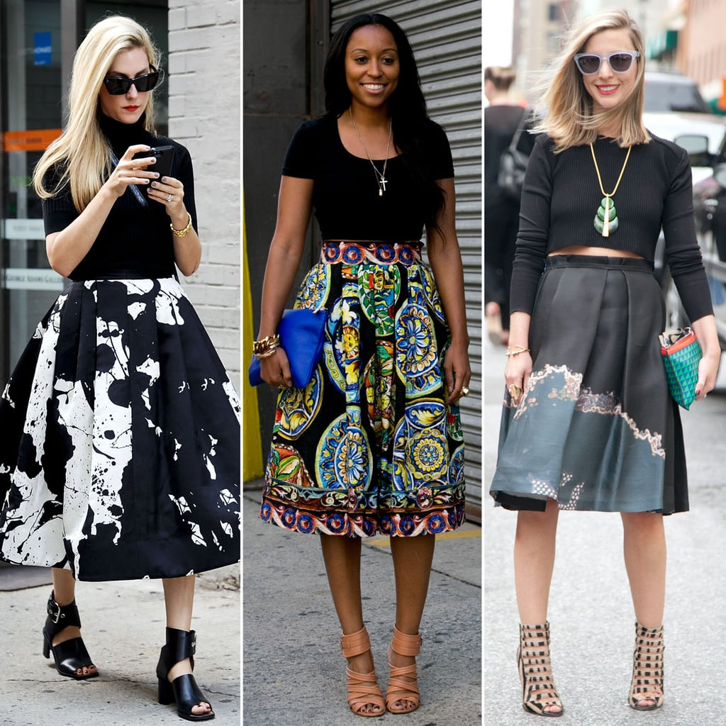 Why the Full Skirt Was a Fashion Week Star
