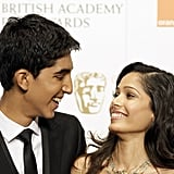 Dev Patel and Freida Pinto, 2009