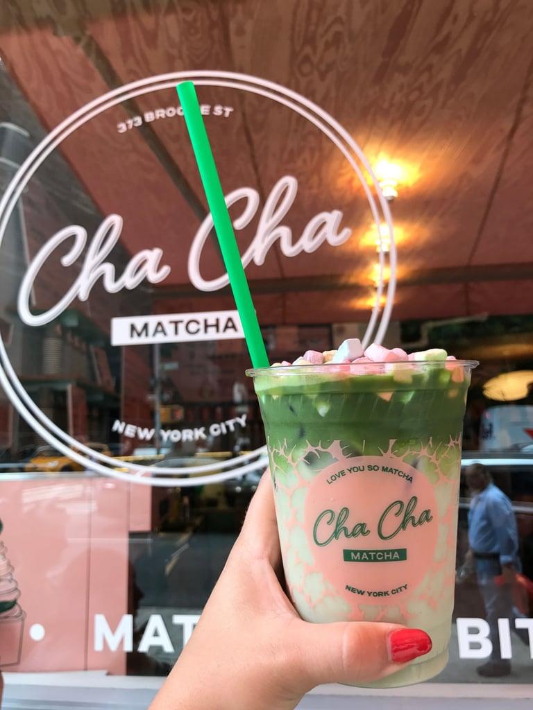 Cha Cha Matcha Vegan Cereal Milk Matcha Latte
