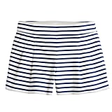 This preppy, striped pair of bottoms will be a sweet way to pay homage along with a silky red button-down for an afternoon watching the games.  J.Crew Nautical Stripe Short ($65)