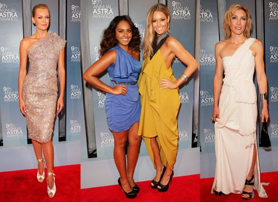 Pictures of Celebrities at the 2011 Astra Awards, including Sarah Murdoch, Jessica Mauboy, Claudia Karvan and Alex Perry
