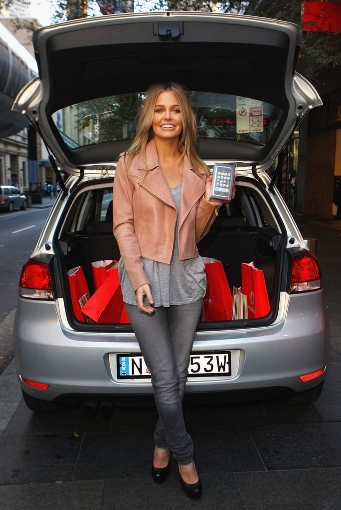 Lara Bingle at the 2009 iPhone Launch in Sydney