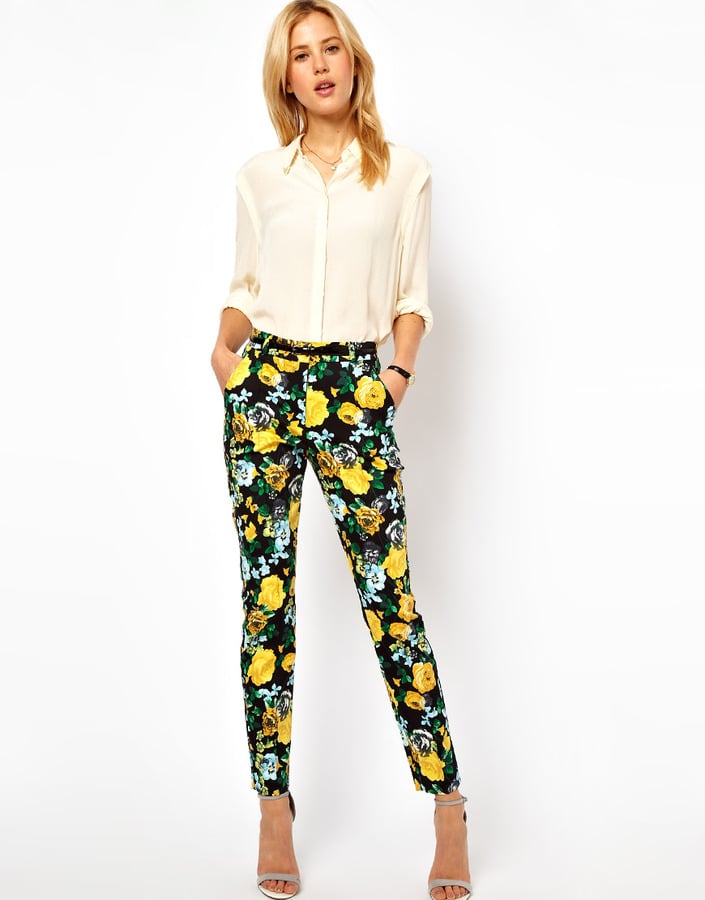 All you need to make these ASOS Floral-Print Pants ($61, originally $76) work is a crisp white button-down and strappy sandals.