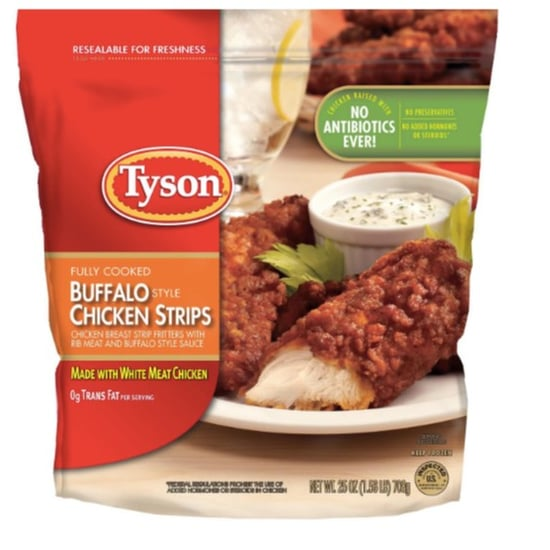 Tyson Chicken Strip Recall 2019
