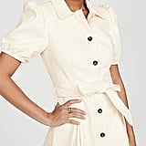 Moon River Puff-Sleeve Mini Dress