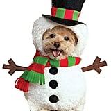 Snowman Pet Costume