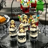 Jack Skellington Cake Push Pop