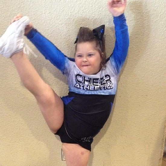 Cheerleader With Down Syndrome (Video)