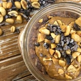 High-Protein Chocolate Peanut Butter Overnight Oats Recipe