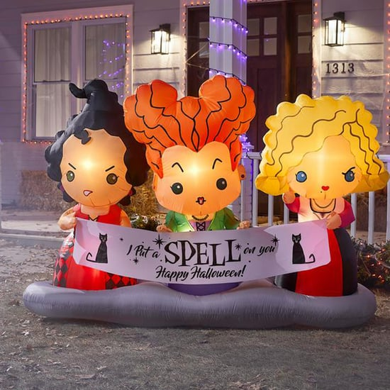 Home Depot's Giant Hocus Pocus Sisters Halloween Inflatable