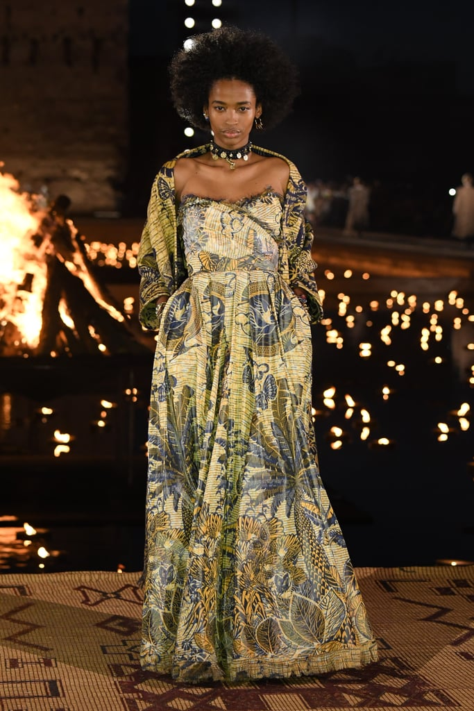 Maria Grazia Chiuri Called on Experts to Help Her With the Africa-Inspired Elements