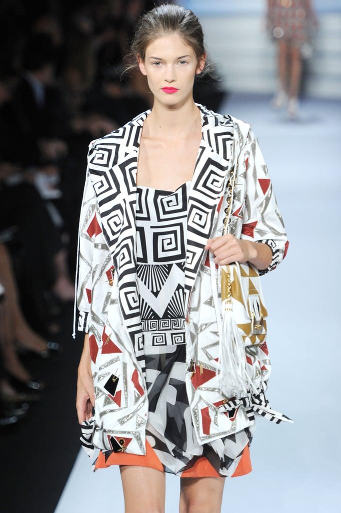 2011 Spring New York Fashion Week: Diane von Furstenberg