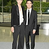 Stella Tennant and Joseph Altuzarra. Source: Neil Rasmus/BFAnyc.com