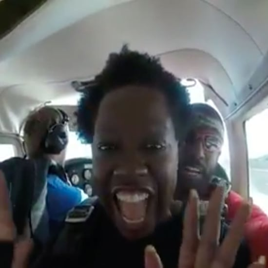 Viola Davis Skydiving Video 2019