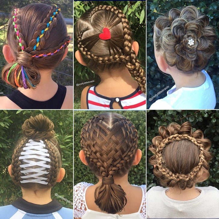 Elaborate Hair Braid Ideas For Little Girls Popsugar Moms