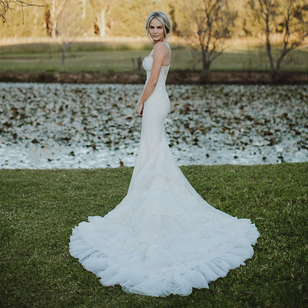 Real World Wedding Dress Inspiration and Photos | POPSUGAR Fashion ...
