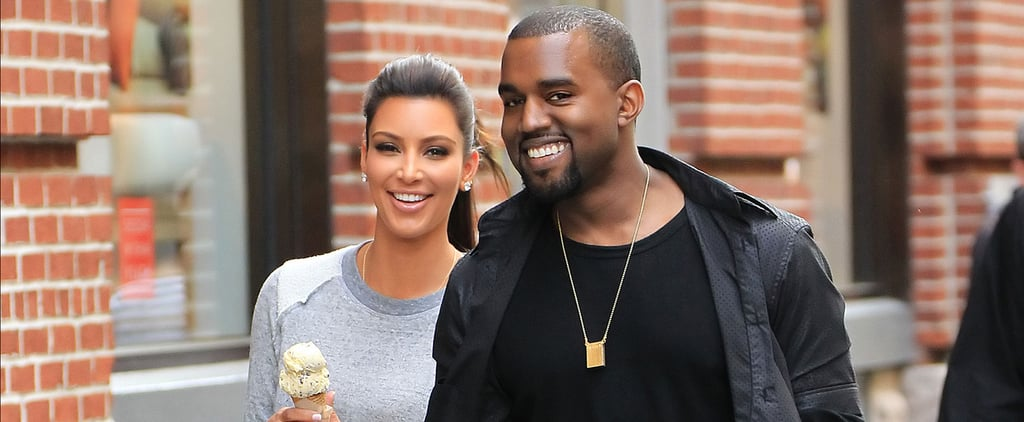 kim kardashian and kanye west dating timeline