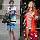 When She Combined Stripes and Bright Colors in 1 Standout Look