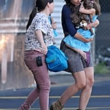 Katie Holmes and Suri Cruise Take Off as Tom Cruise Nabs Another Leading Lady