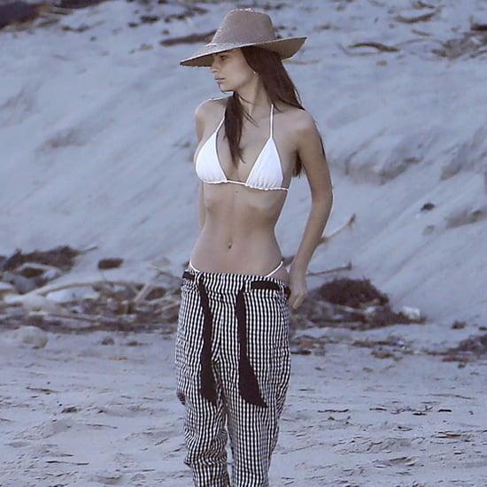 Emily Ratajkowski in a Bikini in Malibu March 2017