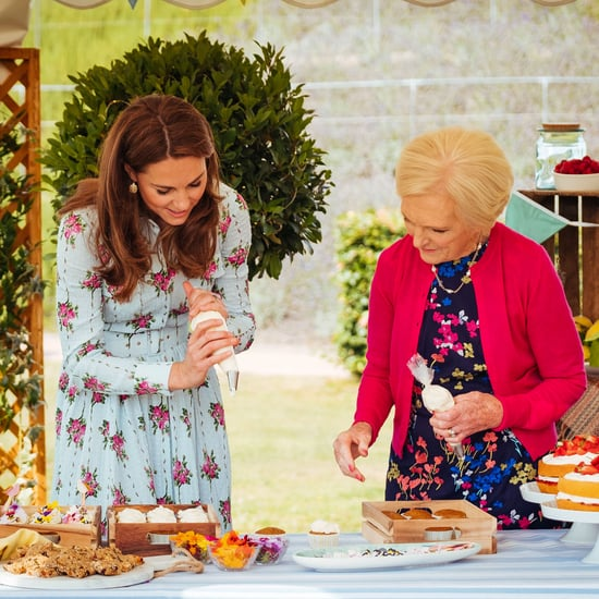 Kate Middleton With Mary Berry on A Berry Royal Christmas