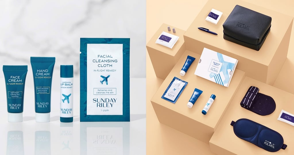Sunday Riley and United Airlines Skin Care