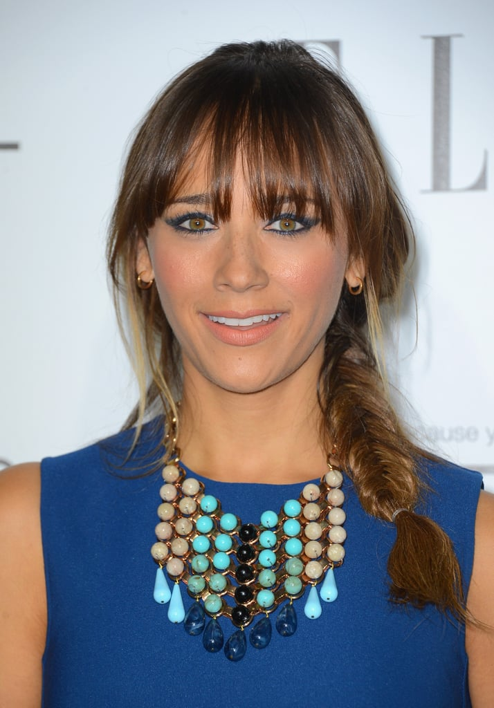Rashida Jones Over 30 Pictures Of Celebrities With Braids Blake