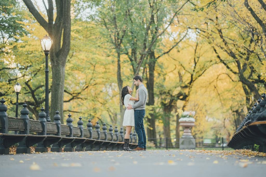 Central Park Engagement Shoot